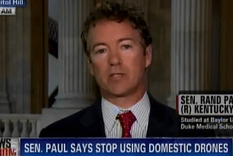 Rand paul drone use