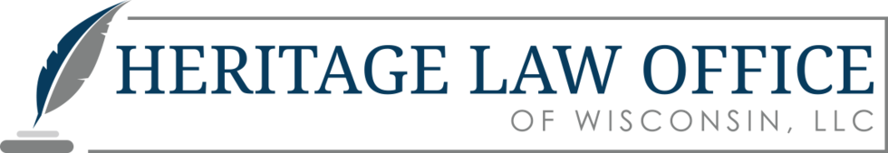 Heritage law office logo