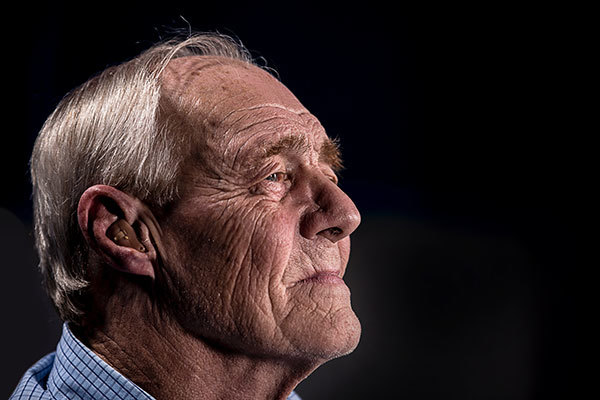 Senior hearing