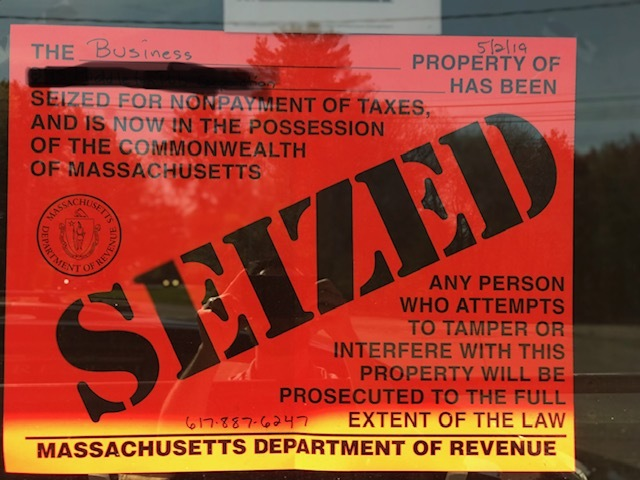 Massachusetts Department of Revenue | Law Offices of Matthew