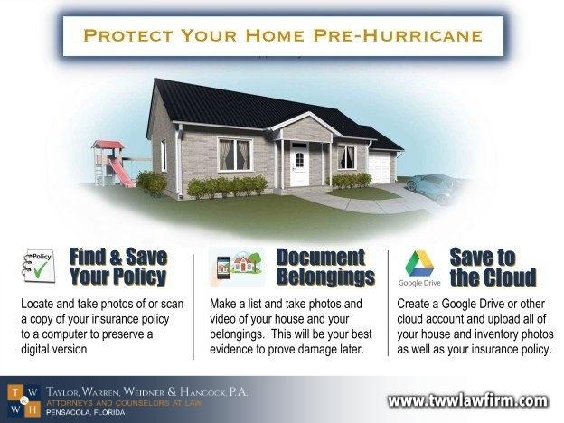 hurricane season storm damage property insurance claim