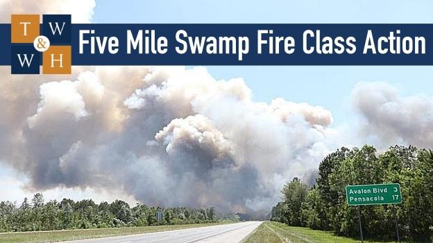 five mile swamp fire class action