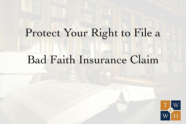 damages that can be recovered in a bad faith insurance claim