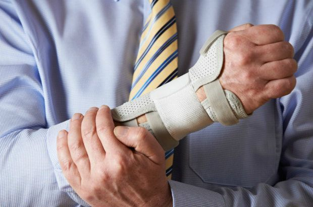 man with a long-term disability injury filing a disability benefits claim