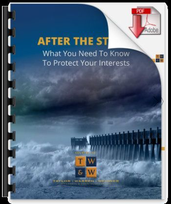 after the storm guide to documenting damages from a hurricane for a hurricane insurance claim