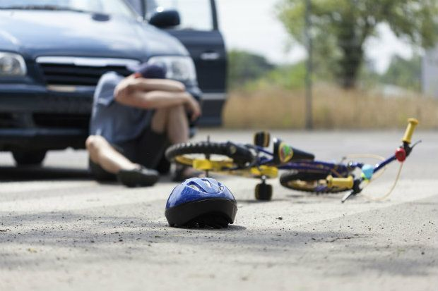 accident with a bicyclist and car insurance coverage for damages