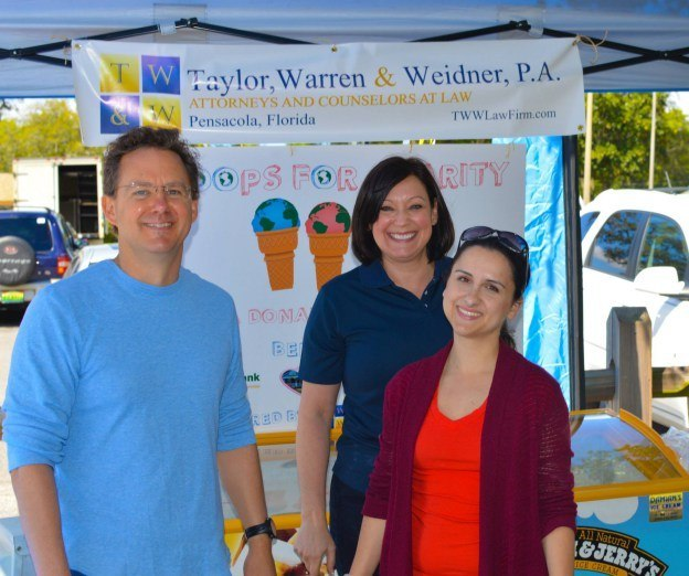 Taylor Warren & Weidner supports local businesses in the Pensacola community