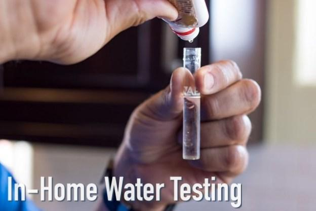 deceptive in-home water test for consumer fraud lawsuit