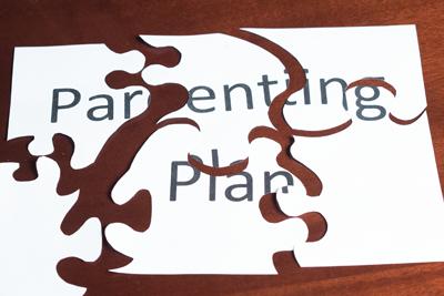 Parenting plan modification