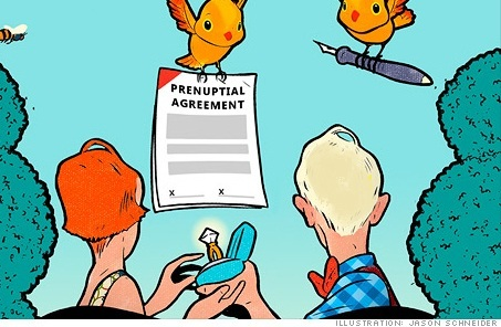 Prenup agreements image