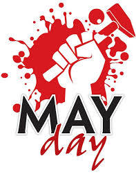 Logo for May Day protests
