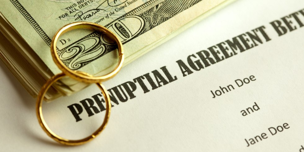 O prenuptial agreement facebook