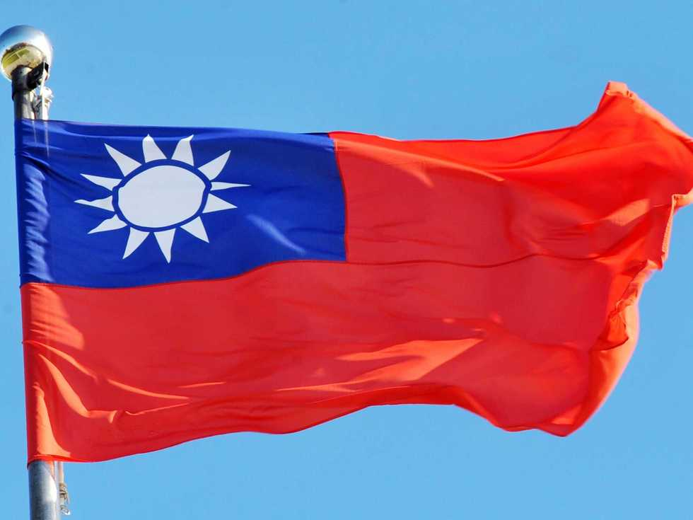 China is fuming after taiwan raised its flag in washington dc