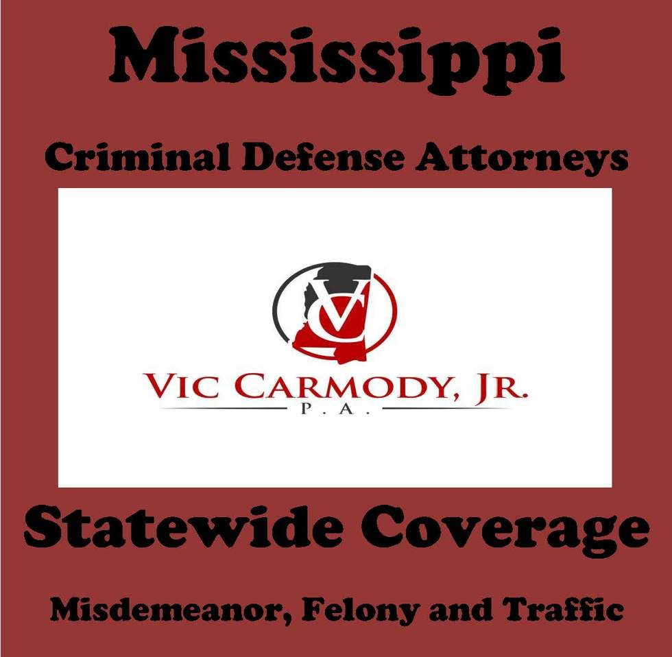 Mississippi Criminal Defense Lawyer Vic Carmody