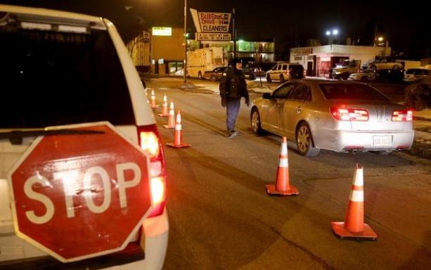 Mississippi DUI Roadblock