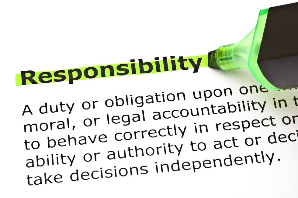Responsibility 20of 20trustee