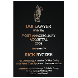 Lawrenceville DUI Attorney | Get Your Life Back | The Ryczek
