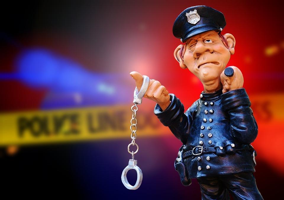 Cop 20with 20cuffs