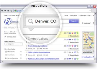 Private investigation leads