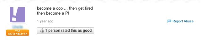 Yahoo PI answer
