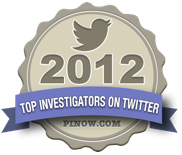 Top Investigators on Twitter 2012
