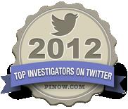 Top Investigators on Twitter 2012