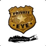 Private Eye Badge