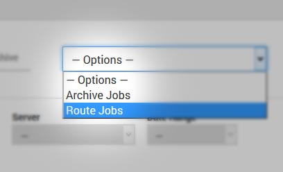 Option: Route Jobs