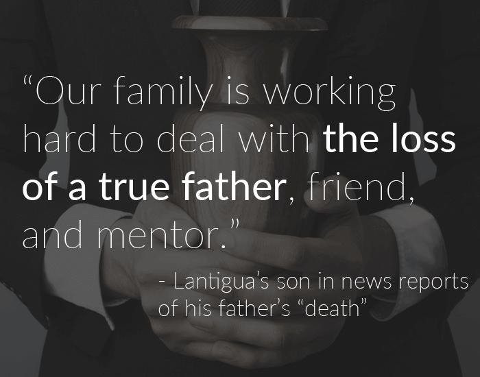 Lantigua's family quote