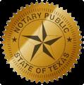 Texas Notary Logo