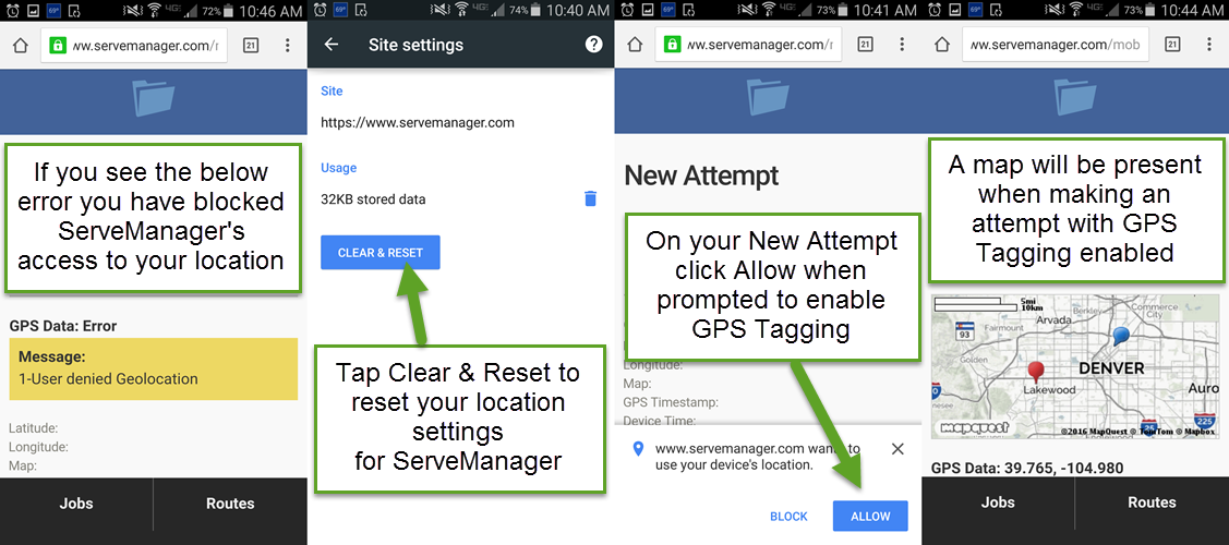 Reset Your Phone's GPS Settings