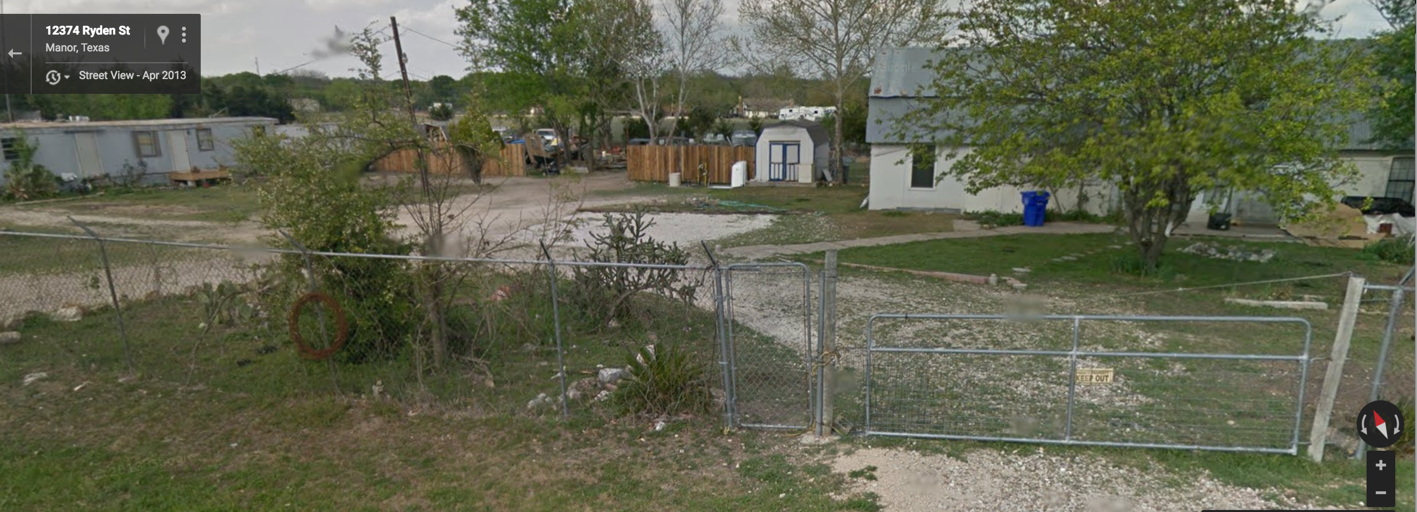 process server killed by dog in Texas