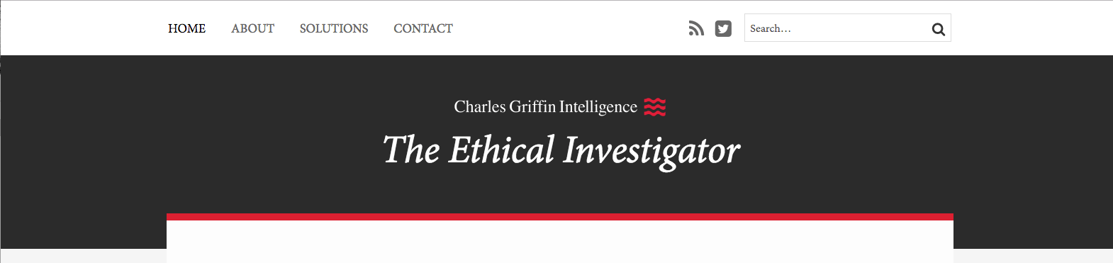 Top Investigation Blogs The Ethical Investigator