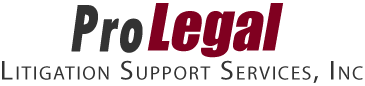 ProLegal Litigation Support Services Logo