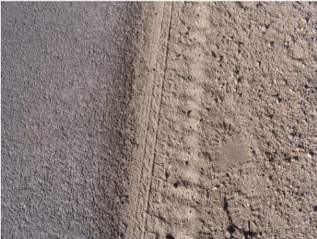 Rut Tire Marks