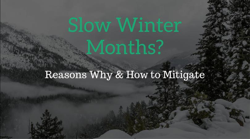 Slow Winter Months: ServeReport Newsletter