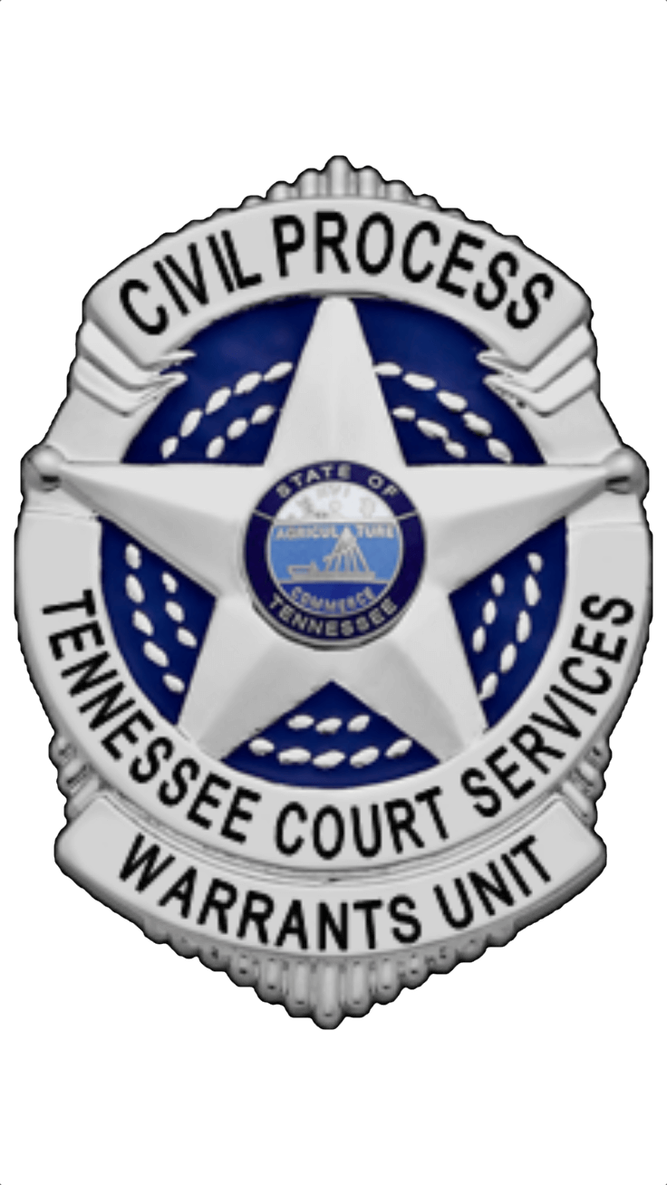 Tennessee Court Services, Civil Process, Warrants Unit