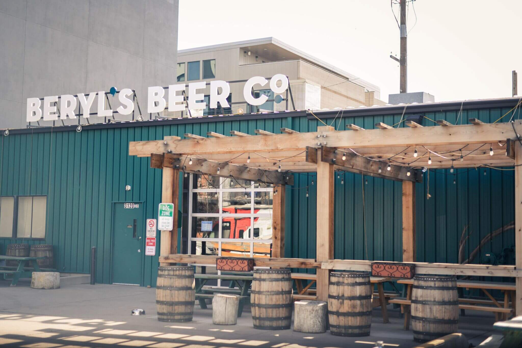 Brewery Patio