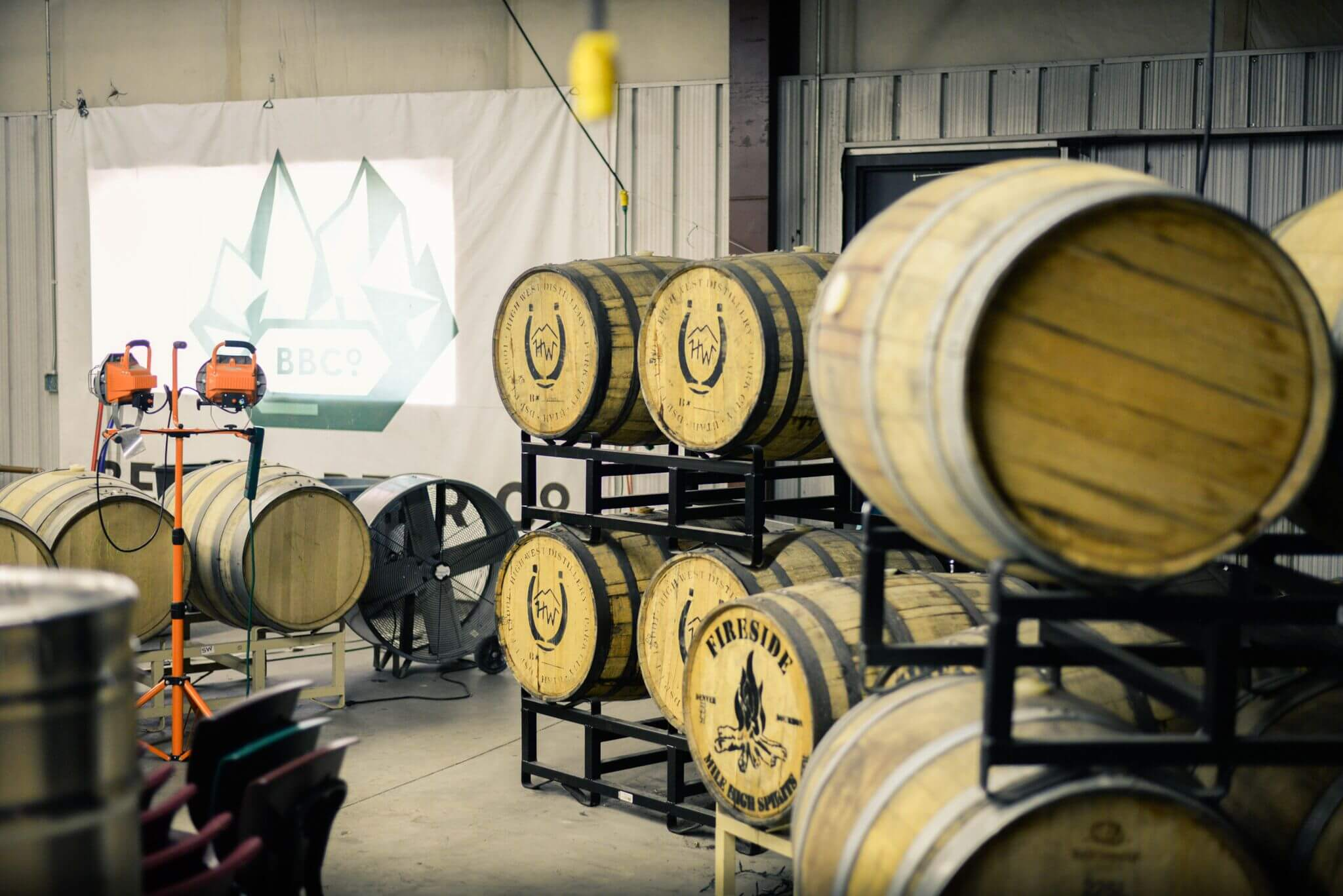 Wood Beer Barrels