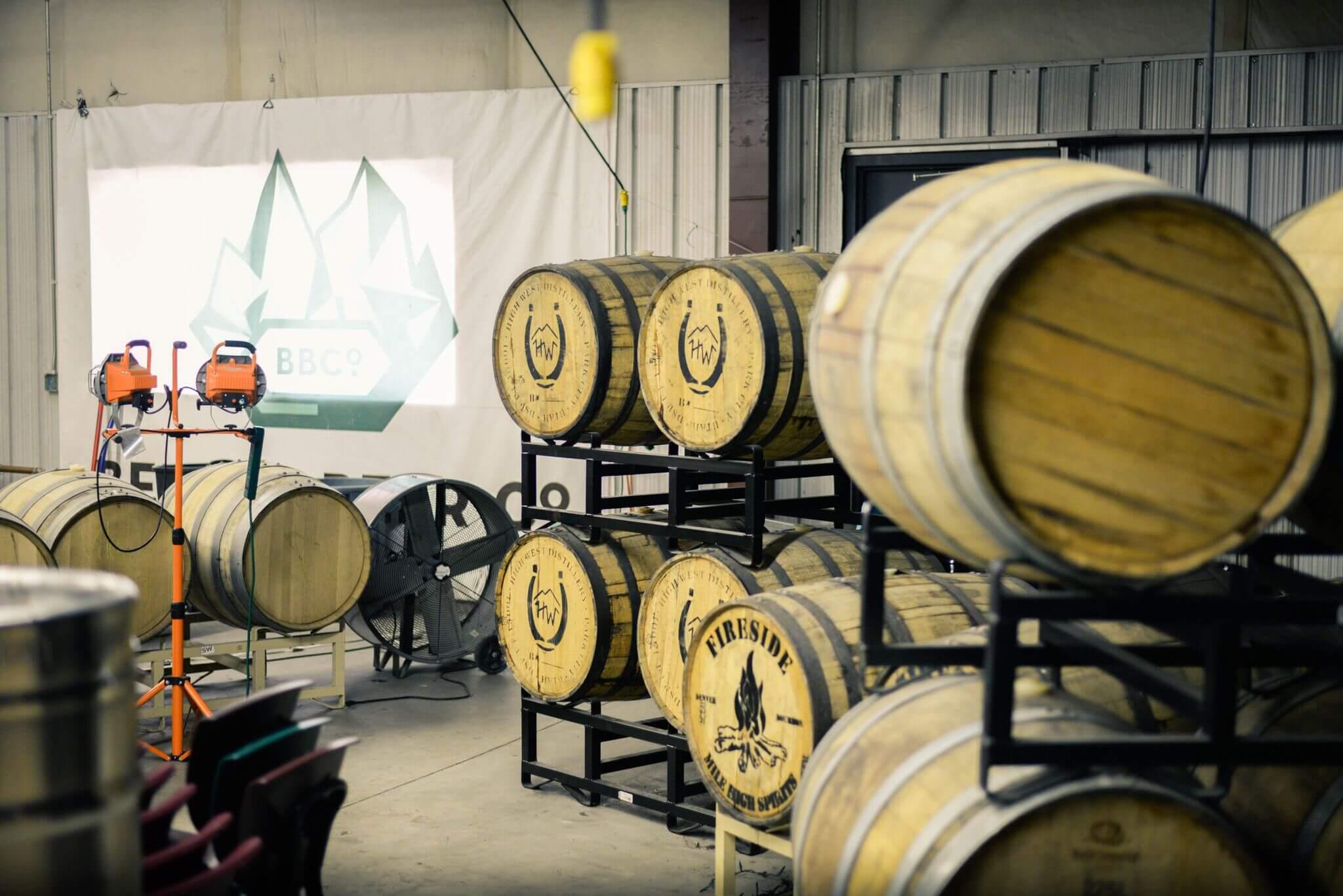 Wood Beer Barrels