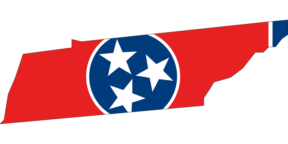 Tennessee State and Flag