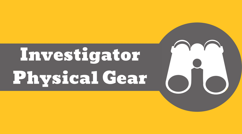 Private Investigator Physical Gear
