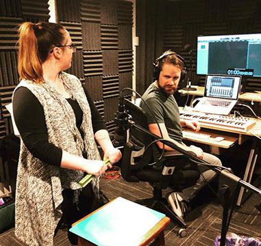 Kelly Kramarick Audio Engineer