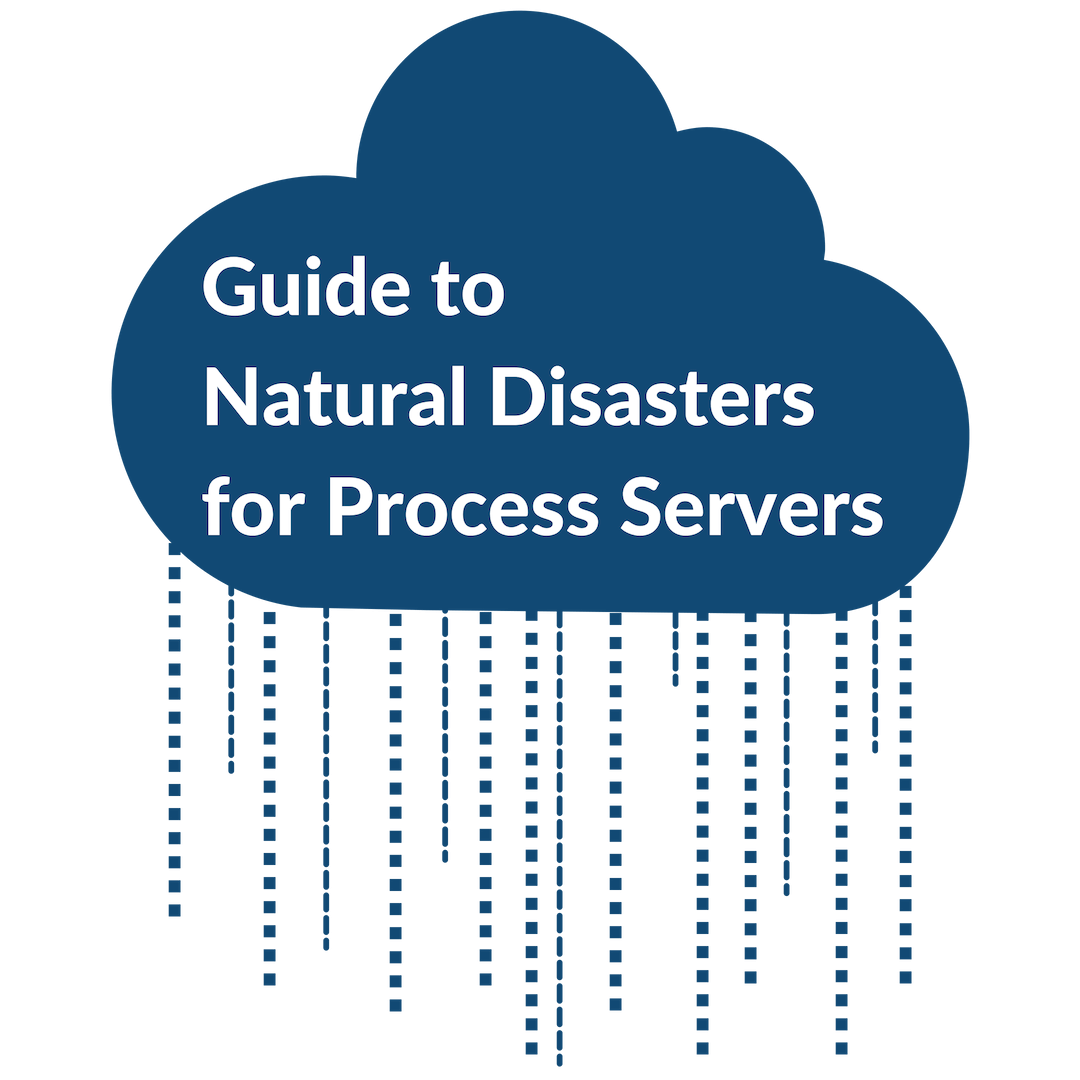 Guide to Natural Disasters for Process Servers