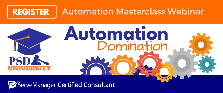 Automation Domination Masterclass Webinar