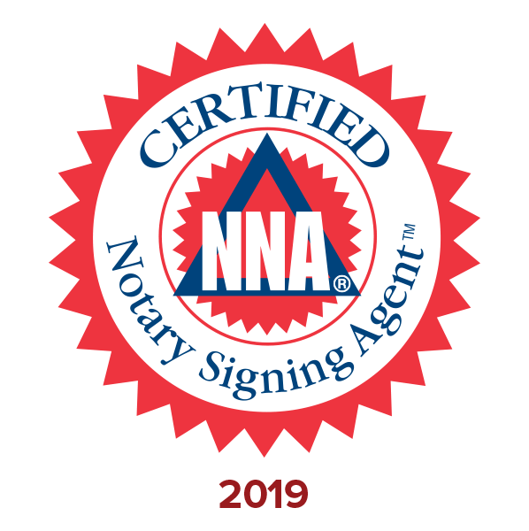Trained, Certified, Background Screen National Notary Signing Agent