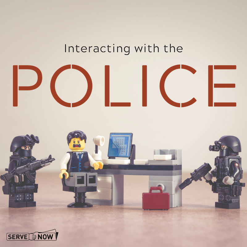 Process Servers and Police