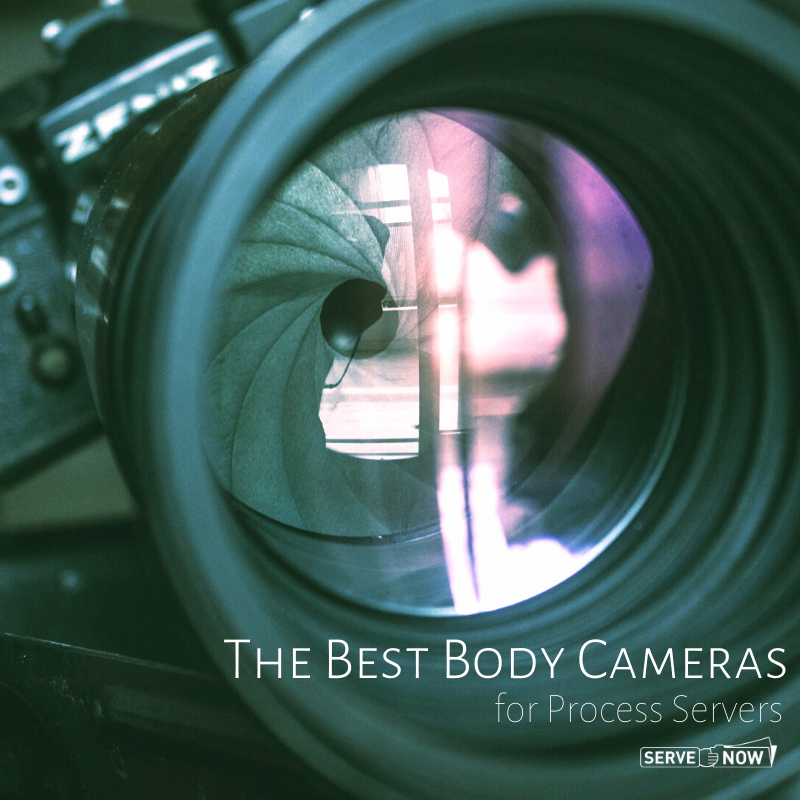 Best Body Cameras for Process Servers