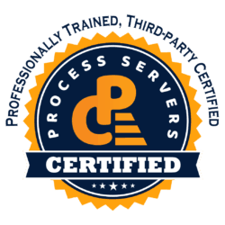 Trained Process Server