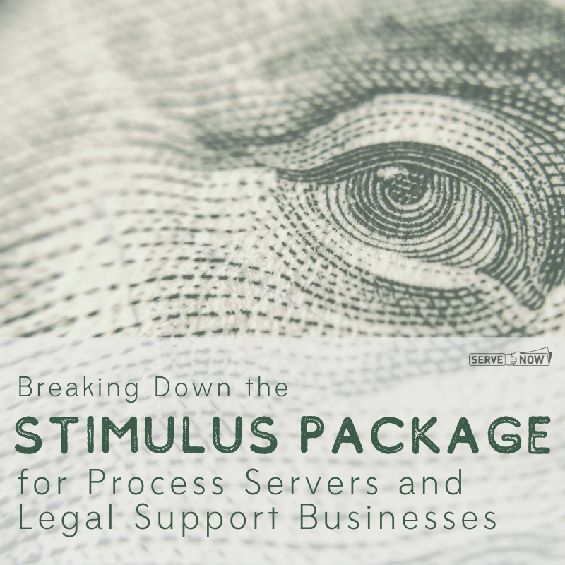 Stimulus Package for Process Servers